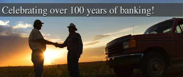 Celebrating over 100 years of banking