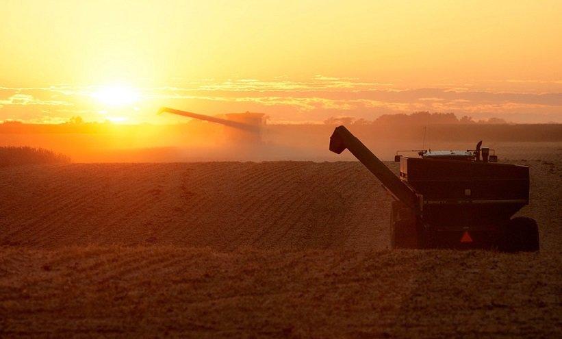 Farming combine.
